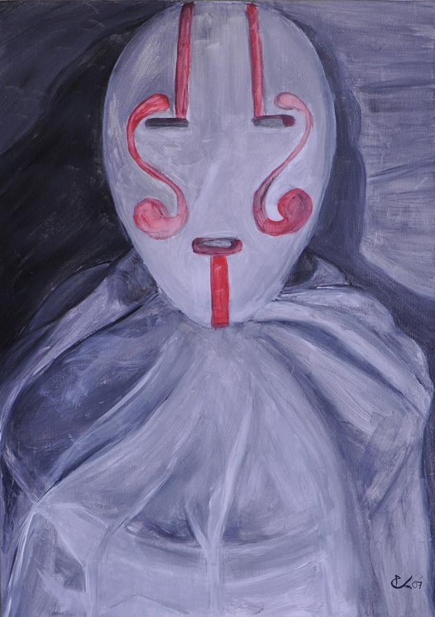 """"""" Une nature; morte """" (50x70cm acrylique)"""