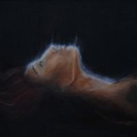 """""""L'éveil"""" (50x70cm pastels à l'huile )"""